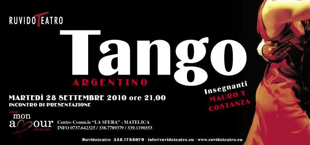 CORSI DI TANGO ARGENTINO 2010/2011
