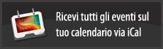 Ricevi tutti gli eventi sul tuo calendario via iCal